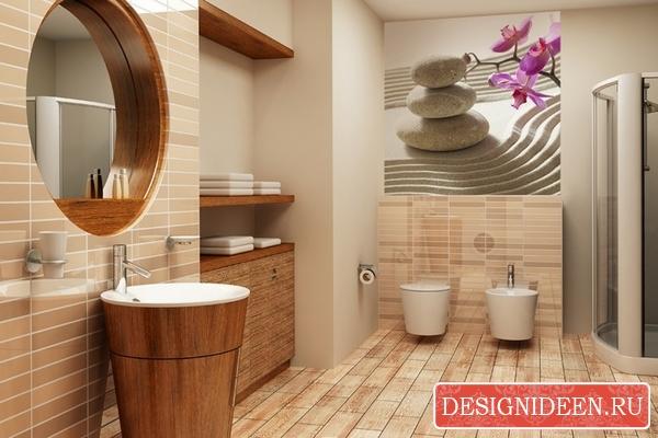 Выбор плитки и мебели для ванной