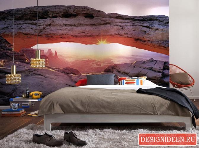 Идеи интерьера спальни с диваном