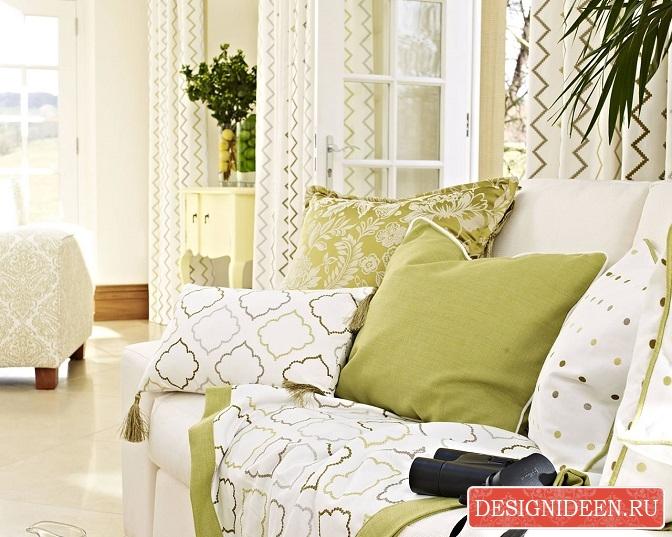 Прекрасный способ создать уют с помощью текстиля