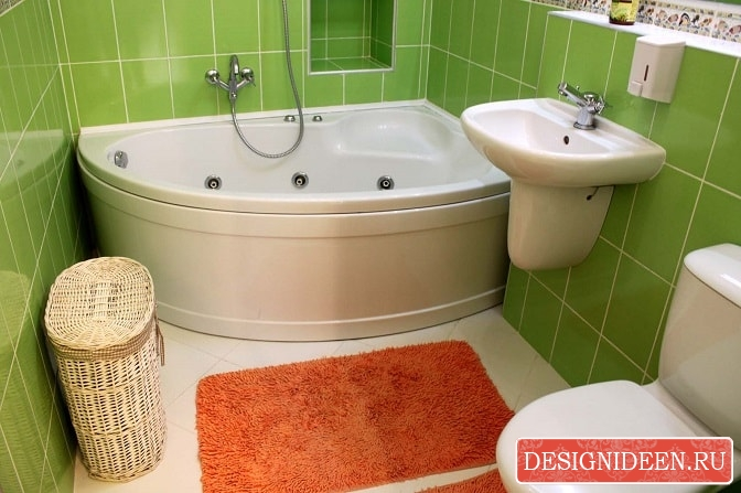 Как стильно оформить маленькую ванную