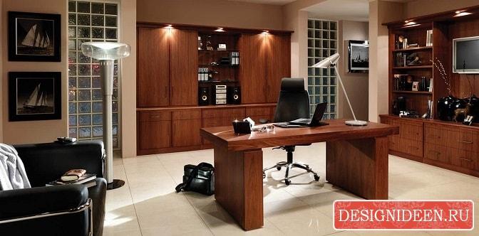Новый взгляд на домашний кабинет 40 примеров