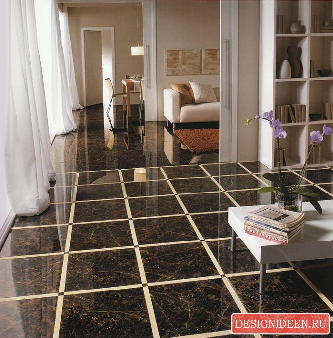 Плитка из керамики для всех помещений в квартире