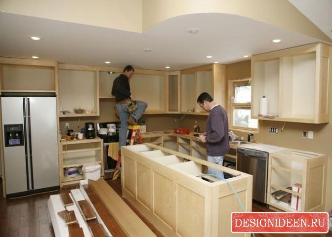 Особенности современного ремонта на кухне