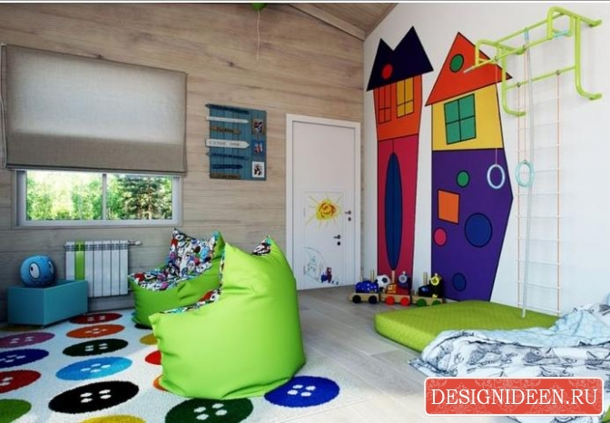 Организация детской зоны в небольшом помещении