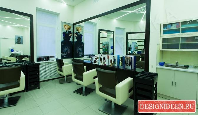 Как выбирать дизайн салона красоты