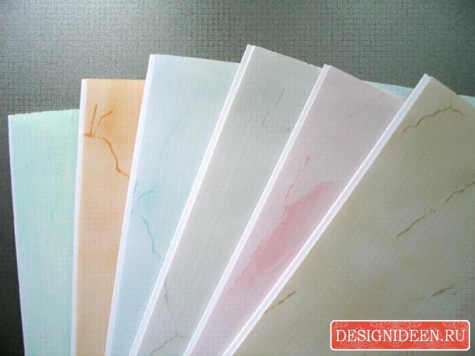 Настенные панели из пластика
