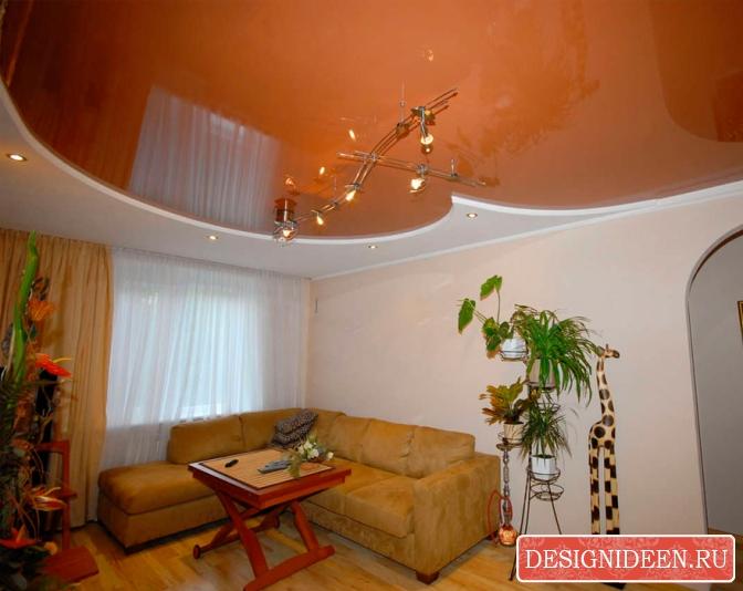 Выбираем подходящий натяжной потолок для квартиры и загородного дома