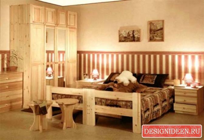 Достоинства мебели из массива