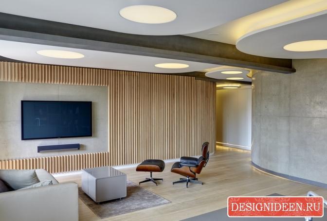 Двухуровневые потолки и их преимущества